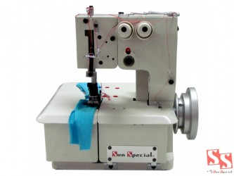 Máquina De Costura Galoneira Semi Industrial Ss 2600,2 Agulhas - Sun Special