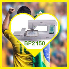 Bordadeira Brother , BP2150LDV, 318 Bordados, 11Fontes,Bivolt- Brother+ 10 mil Bordaddos