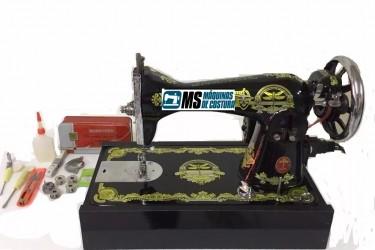 Máquina de Costura Doméstica Reta Pretinha Tipo 15 C - Fox
