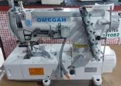 Máquina de Costura Galoneira ,Colarete Direc Drive ,  550w1 5 fios , 3 agulhas,alta velocidade- Sistema de lubrificação totalmente automático com filtro de óleo-OMEGAH-