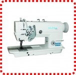 Máquina de Costura Industrial Pespontadeira 2 Agulhas, 2 Fios LH-6875 ALPHA