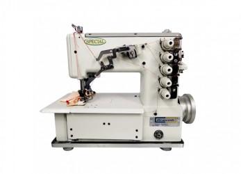 Galoneira Industrial Bracob Completa BC-5000 3 Agulhas, 5 Fios, Calcador 6mm