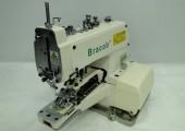 Máquina de costura Industrial p/Pregar Botões BC373,2 e 4 furos,corte de fio,1500RPM - Bracob