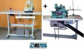 Overloque+ Galoneira Semi Industriais Com Motor+mesa