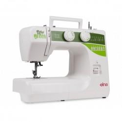 Máquina de costura doméstica Elna Sew Green,15 pontos Voltagem:110 Voltagem:220
