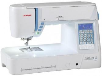 Máquina de Costura Janome SKYLINE S5 - 170 Pontos-BIVOLT