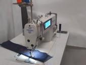 Máquina De Costura Reta Eletrônica Megamak Com Painel Touch