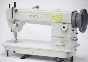 Máquina de costura reta industrial transporte duplo Yamata,1 agulhas