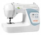 Máquina de costura doméstica HSP-6854 - Siruba Tensão/Voltagem:110/220 Voltagem:110/220 color:Branco Tamanho:Único