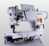 Máquina de Costura Transporte Duplo Lançadeira Grande, 2 Agulhas JK-5872OC-005 - JACK
