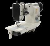 Máquina Pespontadeira Industrial Barra fixa,lanç.grande,Transp.duplo - MegaMak