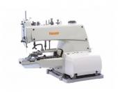 Máquina Botoneira Industrial Mecânica de 2 e 4 furos -Yamata -completa