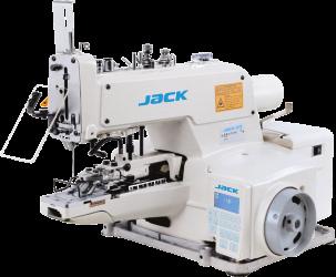 Botoneira Eletrônica 2 e 4 furos em 'x' até 28mm, Calcador 9mm JACK JK-1377EB