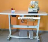 Máquina de Costura Galoneira Semi-Industrial Bracob 2 Agulhas BC2600 Completa