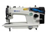Reta Industrial Direct Drive 1 Agulha, 2 Fios, Ponto 5mm, Posicionador de Agulha encima/embaixo SA-MQ1 SANSEI