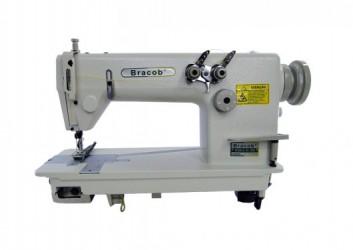 Máquina de Costura Industrial Type c/ 2 Agulhas Ponto Corrente BC0058 - Bracob