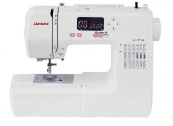 Máquina de costura doméstica Eletrônica 2018DC,18 pontos,820PPM,painel LCD,Autovolt - Janome