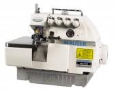 Máquina de Costura Industrial Interloque Direct Drive, 2 Agulhas, 5 Fios 6000PPM MS-757-D - MAUSER