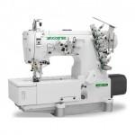 Máquina De Costura Industrial Galoneira Plana Fechada,Direct Drive,3 Agulhas,5 Fios,4500ppm - Zoje