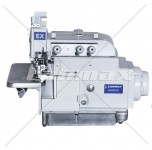 Máquina Costura Industrial Overloque direct drive de base dupla (plana e cilíndrica)
