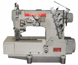 Máquina de Costura Industrial Galoneira Base Plana Direct Drive NW-500D-01 - Nisew