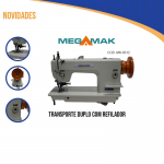 Transporte Duplo,1 agulha, Com refilador, completa-Megamak