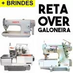 Overlock + Reta + Galoneira Industrial Yamata 1 Ano Garantia
