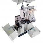 Galoneira Semi-industrial, 3 Agulhas, 4 Fios Mega Mak MK2600-3P Base Plana Completa