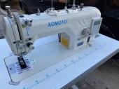 Máquina de Costura Industrial Reta Eletrônica Com corte de Linha, caça fio-AOMOTO