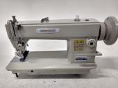 Máquina de Costura Industrial Reta Pesada c/ Lançadeira Grande MK-202 - Mega Mak
