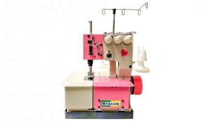 Galoneira 3 Agulhas Semi Industrial Pink- Bracob Baby