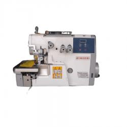 Máquina De Costura Industrial Overlock Singer 314G-131M04E Com Motor Direct Drive, 7000PPM, Singer