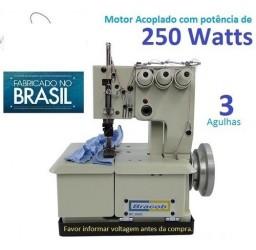 Máquina De Costura Galoneira Bracob Bc 2600 3 Agulhas