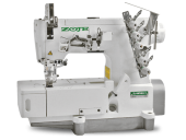 Maquina de costura Galoneira Industrial Zoje, base Plana Fechada