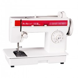 Máquina de costura doméstica SS 974 - Sun Special color:Branco Voltagem:110/220 Tamanho:Único Tensão/Voltagem:110/220
