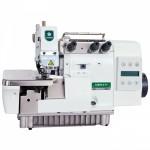 Máquina de costura Overloque Industrial Zoje com Motor Direct Drive,completa