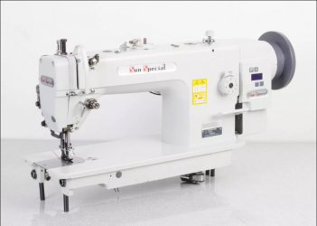 Maquina de costura Industrial Transporte Triplo,1 agulhas,motor Direct Drive 220V - Sun Special