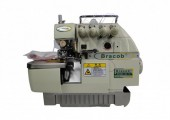 Máquina de costura Overlock Industrial BC74,2 agulhas,400W,6000PPM - Bracob