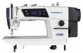 Reta Industrial Direct Drive 1 Agulha, Ponto 5mm, Parada de Agulha Autom. LM9980-D LANMAX