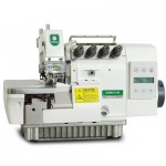 Máquina de costura Interloque Industrial Média com Motor Direct Drive Zoje,completa