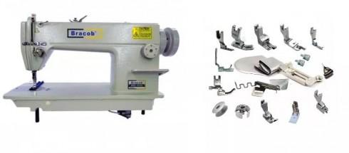 Reta Industrial Completa Bracob + Kit C/ 18 Calcadores